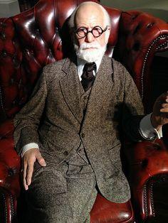 Sigmund Freud at Madame Tussauds Vienna - January 3rd, 2014.