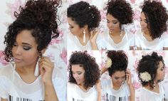 Curly Hair Brush, Curly Hair Tips, Black Natural Hair Care, Natural Hair Styles, Long Hair Styles, Black Wedding Hairstyles, Curled Hairstyles, Curly Hair Problems, Curly Girl Method