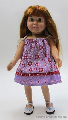 Sewing dolls clothes in 30 minutes? Absolutely! On Sewing With Nancy Joan Hinds and I show share many options.