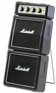 Marshall MS4 Mini ampli pour guitariste