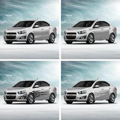 How would you customize your #Chevy #Sonic? Click to check out available decals for the 2014 Sonic hatchback and sedan! #GMAccessories