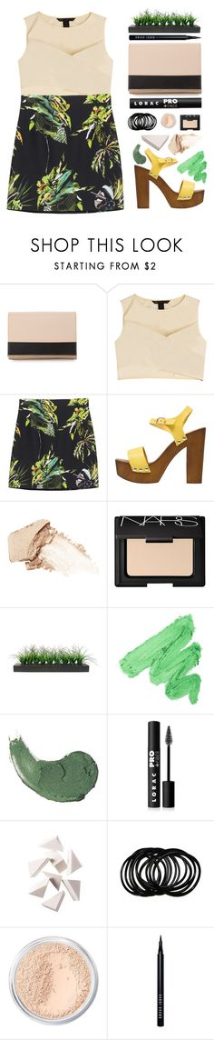 """""""Floral Miniskirt"""" by amazing-abby ❤ liked on Polyvore featuring See by Chloé, Marc by Marc Jacobs, Proenza Schouler, Mai Piu Senza, NARS Cosmetics, Vintage, LORAC, Bobbi Brown Cosmetics and Bare Escentuals"""