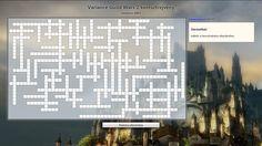 Keresztrejtvény Guild Wars 2 Gyűjtői kiadásért~