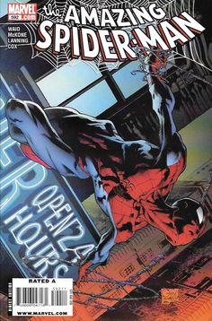 """""""24/7"""" pt. 1 __ Written By Mark Waid , Art Mike Mckone Cover Art Joe Quesada , In the aftermath of Spidey's Fantastic Four voyage, his whole world is turned upside down by the new rules of the world."""