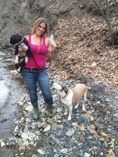 Love to hike with my pups