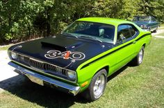 1971 Plymouth Duster 340 Wedge.