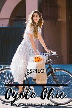 Não se se vocês já reparam, mas temos um novo estilo circulando pelas ruas e pelos painéis do Pinterest. Estamos falando do estilo Cycle Chic, pelo que eu li, esse estilo ganhou mais notoriedade na Dinamarca, e se divulgou pelo mundo todo através da internet.