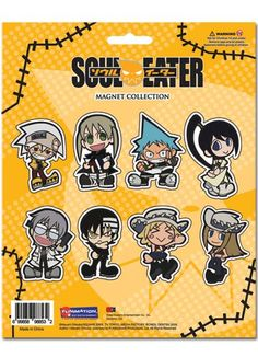 Amazon.com: Soul Eater: Collection Magnet: Toys & Games