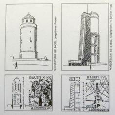 Wasserturm by Hans Schmidt. 1925
