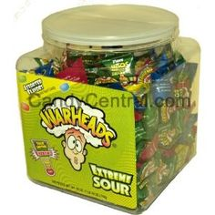 Warheads Extreme Sour Hard Candy (Pack of Candy S, Sour Candy, Hard Candy, Old School Candy, Gourmet Recipes, Snack Recipes, Bubble Gum Flavor, Cool Avatars, Favorite Candy