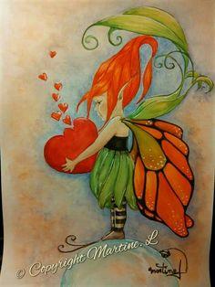 Pencil Drawings Of Flowers, Fairy Drawings, Disney Drawings, Kobold, Drawing For Beginners, Beautiful Fairies, Fairy Land, Magical Creatures, Beautiful Paintings
