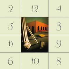 """New Order """"Thieves like us"""", cover based on De Chirico"""