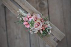 Wedding Accessories – Flower head wreath,floral head wreath,flower crown – a unique product by evafleur on DaWanda