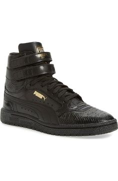 PUMA 'Sky 11 Hi' Animal Embossed Sneaker (Women) available at #Nordstrom