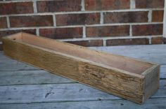 Caths22's Reclaimed and Recycled Barn Wood 36 inch Long Barn Wood Window Boxes or Center Piece or Planter