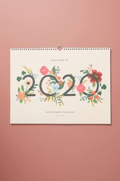 Rifle Paper Co. Wild Rose 2020 Appointment Calendar by in Pink, Stationery at Anthropologie Art Calendar, Kids Calendar, Calendar 2020, Free Calender, Calendar Ideas, Magazine Design, Graphic Design Magazine, Kalender Design, Appointment Calendar