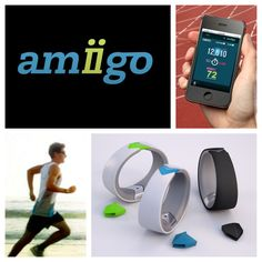 http://Amiigo.co introducing Amiigo. Making fitness more fun, simple and social. Launching on Kickstarter soon! #exerciserecognition #fitness #heartrate #tracking #social #sharing #apps #goals #competitions #exercise #health #healthy