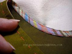 Обработка проймы косой бейкой (Шитье и крой) | Журнал Вдохновение Рукодельницы