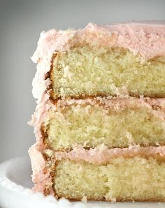 A moist yellow cake recipe. (Actually, I asked for it.) I have been on the hunt for a moist yellow scratch cake recipe since I started thi...