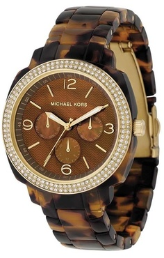 Another to the collection, Michael Kors tortoise watch.  #michaelkorsaddict :)