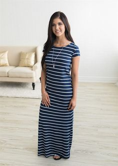 Maxi dress season is here and we couldn't be more thrilled! Our Perfect Striped Maxi is the perfect piece for any woman's closet.