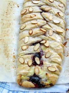 Blueberry Cream Cheese Almond Braid: One of my all time favorite pastries!  I have made this multiple times and it's actually not hard to make.  Don't be intimidated.  It is easy and so delicious!