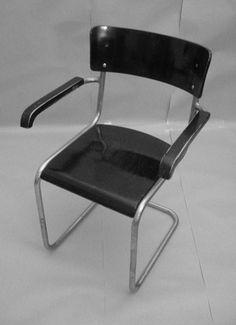 Thonet B 43 F 1931 Bauhaus Mart Stam Deutsche Moderne cantilever chair