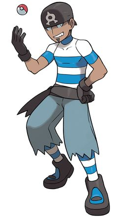 Bob Jose/ ex team aqua who became a marine experts in alola, searching for clues for kyogre's blue orb whereabouts and going to seal the orb