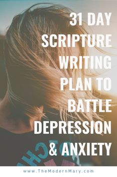 What do you do when depression strikes? Next time try writing out these scriptures in your prayer journal to battle depression. A mobile war room! Scripture Reading, Daily Scripture, Daily Devotional, Encouragement Scripture, Scriptures For Anxiety, Bible Scriptures, Scripture Verses, Writing Plan, Bible