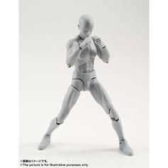 S.H.Figuarts - Body-kun DX Set (Gray Color Ver.) - import du Japon