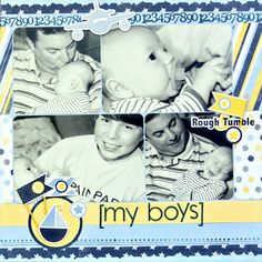 My Boys - Scrapbook.com