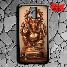 Gold Ganesha Samsung Galaxy S5 Black Case