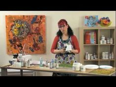 Patti Bradys Rethinking Acrylic: Encaustic Effects with Acrylic Paint
