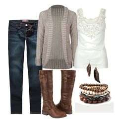 Fall Fashion Trends Check out the Fall 2011 fashion trends moms will definitely want to try this season. I'm thrilled to say that my favorite sweaters boots and scarves from last year are still going strong! Looks Style, Looks Cool, Style Me, Mode Outfits, Fall Outfits, Summer Outfits, Casual Outfits, Outfit Winter, Casual Boots