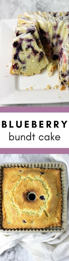 Get the recipe for this easy #baking project for a #Blueberry Bundt Cake here- It's perfect for a crowd!