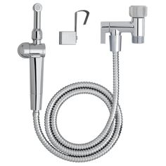 Aquaus 360° Premium Hand Held Bidet with EZ Pressure Control in Silver-ABT-360 - The Home Depot