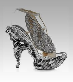 Insane shoes worn in the name of fashion.