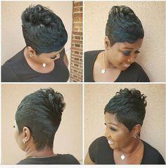 Black Girls Hairstyles, Short Hairstyles, Haircuts, Pixie Styles, Short Styles, Hair Styles, Short Pixie, Short Hair Cuts, Kid Braid Styles