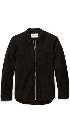 new product b9d9f a56f7 Our Legacy Suede Zip Shirt Jacket Our Legacy, Shirt Jacket, Zip