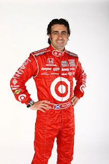 Learn about Dario Franchitti, driver of the No. 40 Dodge for Target Chip Ganassi Racing ~ Skirts and Scuffs-Written by Paula Thompson-photo credit: Dan Helrigel/IndyCar Media