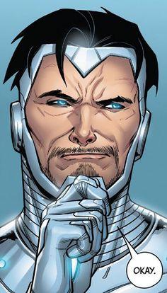 Detail from Superior Iron Man #5 Story: Tom Taylor, Art: Laura Braga, Colors: Guru e-Fx, © Marvel Comics