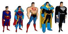 Superman Prime Evolution by on DeviantArt Evil Superman, Superman Cosplay, Superman Comic, Batman, Dc Comics Characters, Dc Comics Art, Marvel Comics, Superboy Primordial, Superboy Prime