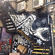 Artist: #londonstreetart #streetartlondon #london #wallart #wallporn #gatekunst #2015 #urbanart #urbanwall #dsb_graff #streetart_official #tv_streetart #ukstreetart #londonlife #londonart #shoreditch #shoreditchstreetart #streetartshoreditch #streetart #greateasternstreet #StreetartUK #londongraffiti #graffitilondon #muralart #mural #snake by beelectro