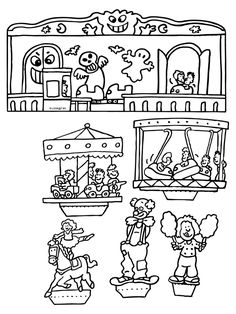 Art For Kids, Crafts For Kids, Arts And Crafts, Paper Crafts, Activities For Kids, Paper Towns, Color By Numbers, Color Crafts, Cut And Paste