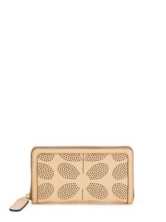 Leather Big Zip Wallet by Orla Kiely at Gilt