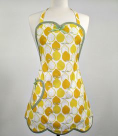 Betty Lemon Delight Sweet Heart Womans Full by SwankyPlaceAprons