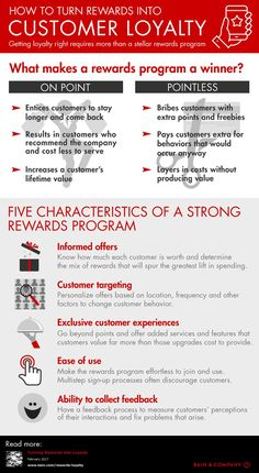 To generate customer loyalty, rewards programs should have five key characteristics. Customer Journey Mapping, Customer Experience, User Experience, Business Networking, Business Marketing, Marketing Communications, Business Branding, Bill Gates, Loyalty Marketing
