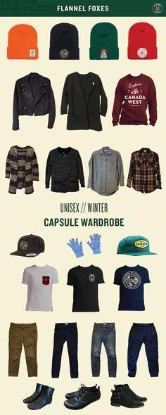Unisex Winter Capsule Wardrobe // For Tomboys & Boys.
