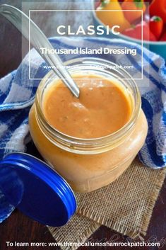 Classic Thousand Island Dressing, is the perfect condiment for salads, a secret sauce for burgers, topping Ruben sandwiches, dipping your fries in, and so much more. It has a bold mystery history dating back to 1912 and possibly before. via @themccallumssha Pulses Recipes, Thousand Island Dressing, Sweet Pickles, Homemade Biscuits, Fried Chicken Recipes, Sweet Potato Casserole, Recipes From Heaven, Food Heaven, Southern Recipes
