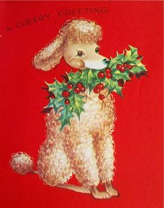 Why retriever breed dogs make the best pets Christmas Card Images, Vintage Christmas Images, Retro Christmas, Christmas Greeting Cards, Christmas Greetings, Christmas Graphics, Christmas Wishes, Holiday Cards, Christmas Puppy